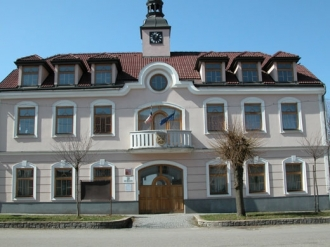 Rekonstrukce radnice Milín -