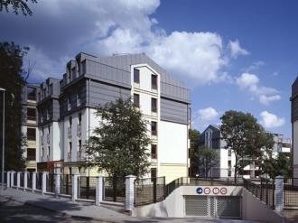 Kompakt Příbram - Soubor bytových domů Podvinný Mlýn - Praha 9, Libeň - II. etapa