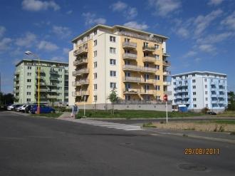 Výstavba bytových domů Drkolnov A, B a C Příbram -