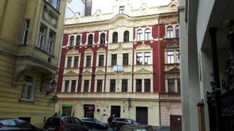 Kompakt Příbram - Rekonstrukce domu, Kostečná, Praha 1